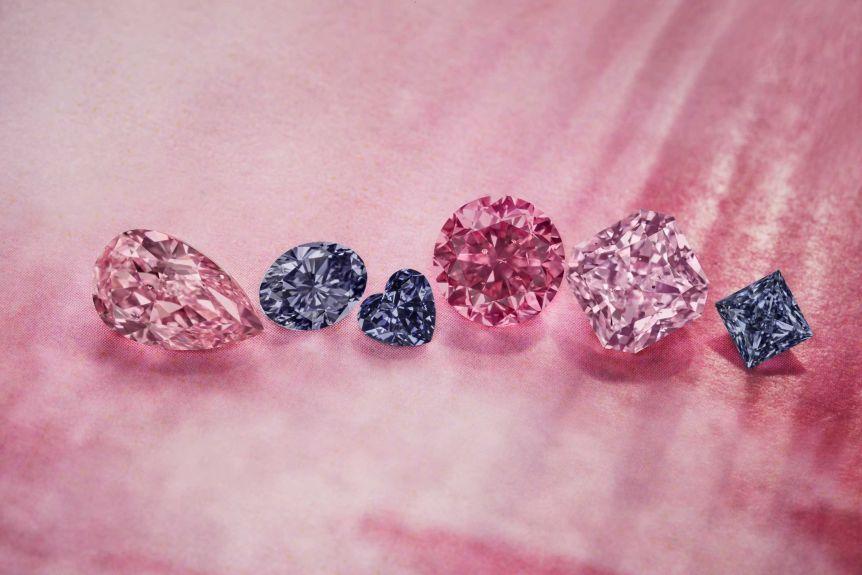 màu sắc của kim cương