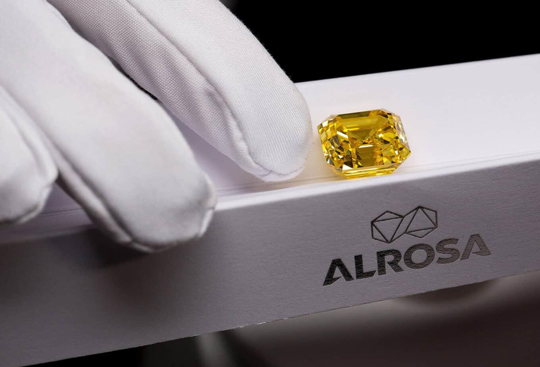 công ty kim cương Alrosa