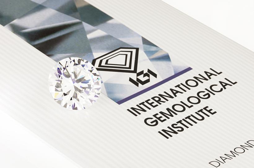 giấy chứng nhận kim cương IGI